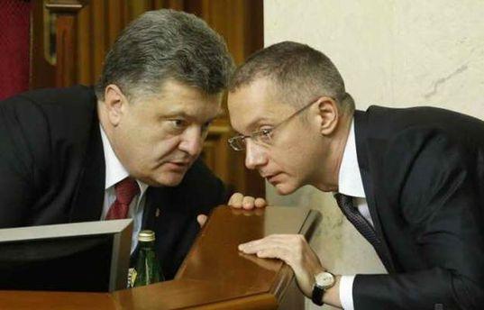 Порошенко і Ложкін