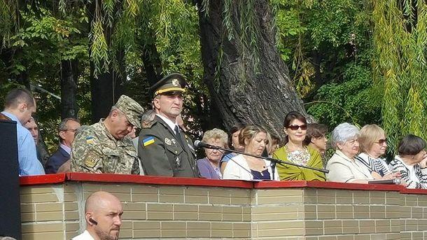 Первый звонок отметили в военном лицее имени Богуна