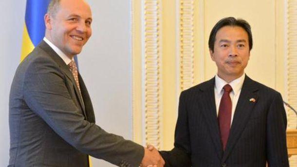 Андрій Парубій та посол Китаю Ду Вей