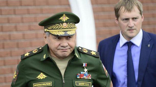 Шойгу лучше не появляться в Украине