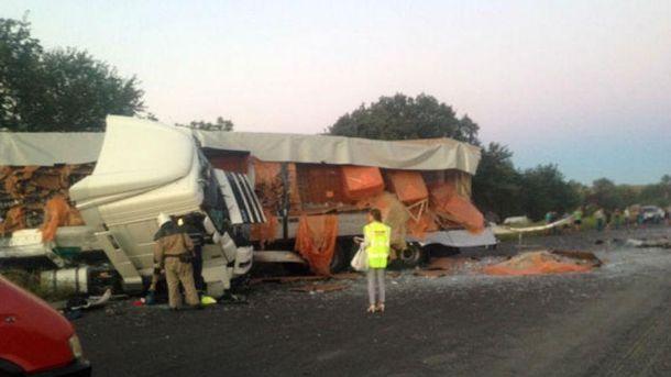 Серйозна аварія на Полтавщині