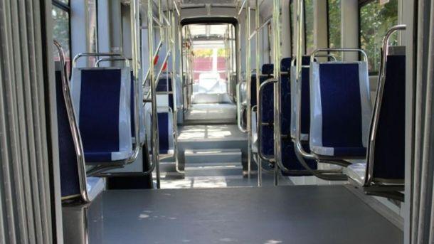 Сучасний трамвай у Вінниці