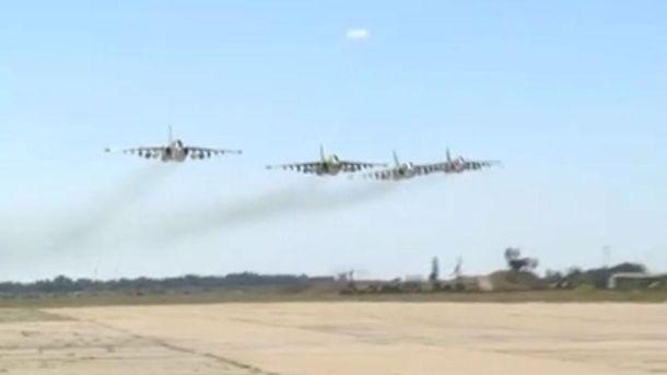 Маневри української авіації