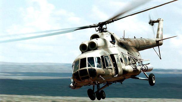 Вертоліт згорів