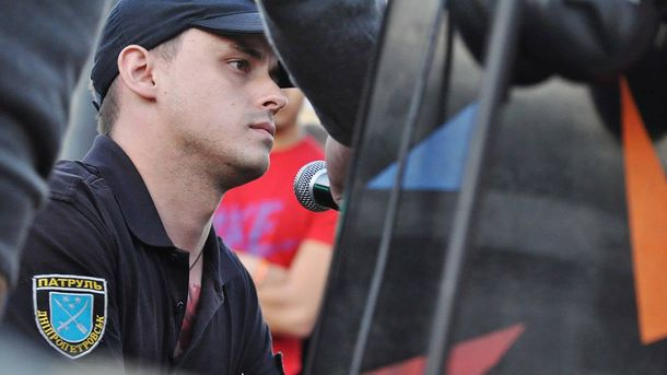 Поліцейський В'ячеслав Писаренко