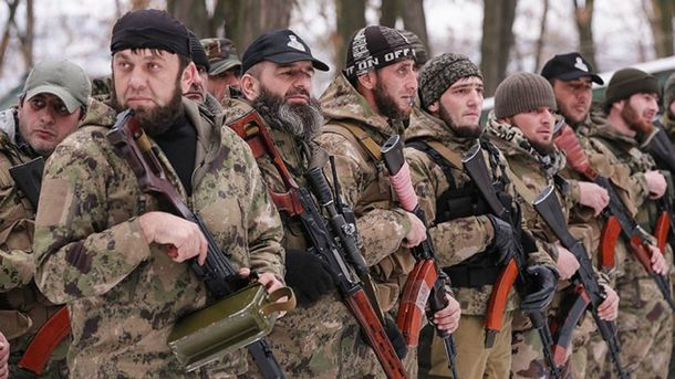 На Донбассе уже давно воюют представители Кавказа