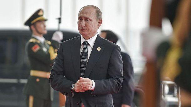Путін не готовий покинути свій пост