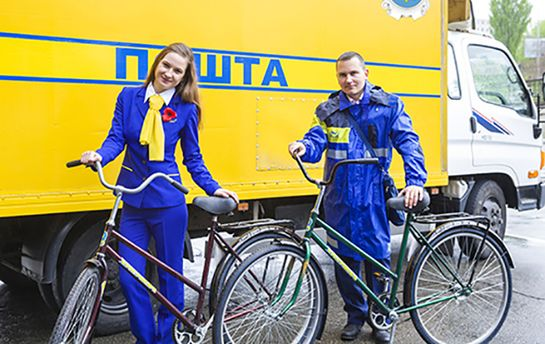 Поштарі на велосипедах