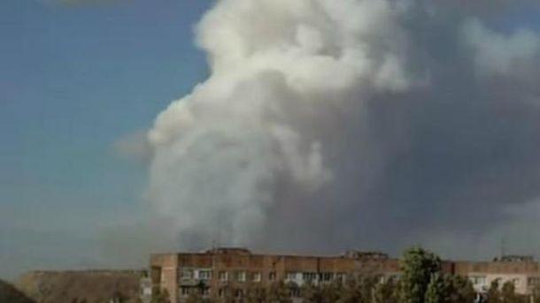 Донецьк сколихнули потужні вибухи