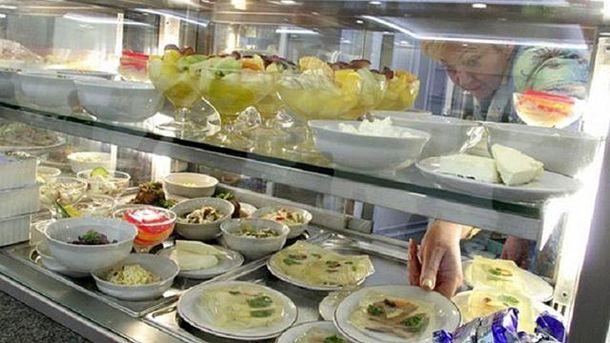 Їдальня Верховної Ради