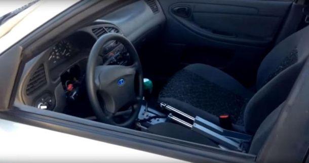 Разработку тестируют на автомобиле Ланос