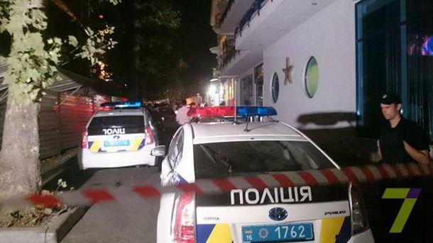 В Одессе захватили заложников
