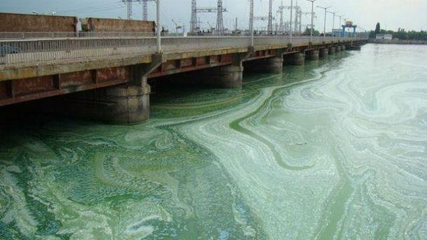 Забруднений Дніпро