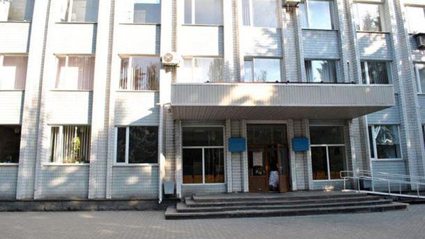 Будівля райвиконкому зазнала незначних пошкоджень