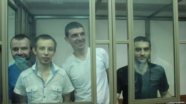 Кримчани під час суду