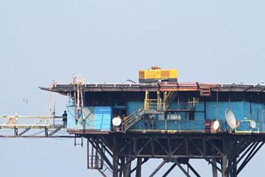Платформа газового месторождения
