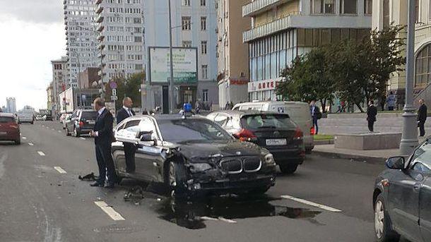 авария с авто Суркова