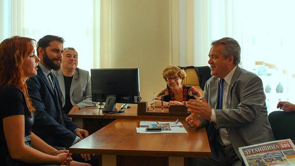 Мауріціо Марроне (ліворуч) зустрівся з терористами
