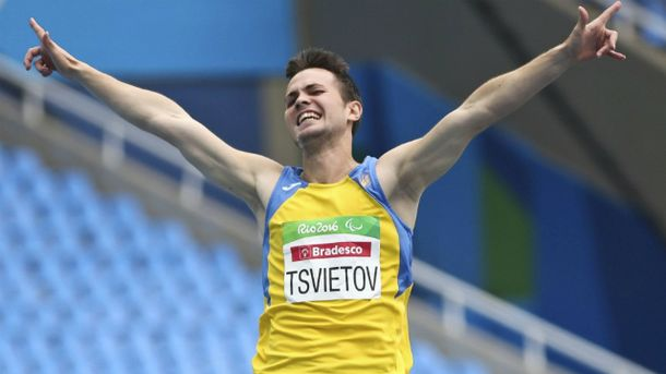 Ігор Цвєтов – паралімпійський чемпіон