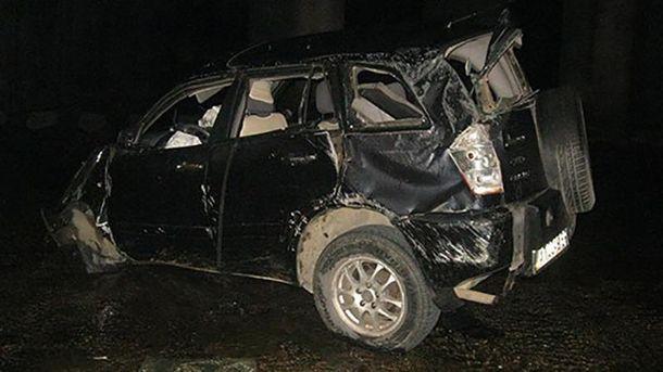 Пасажир і водій загинули на місці