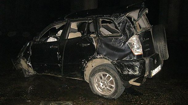 Пассажир и водитель погибли на месте
