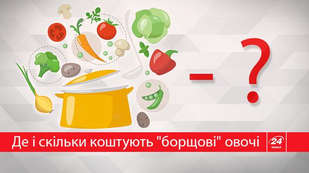Где в Украине самые дешевые овощи