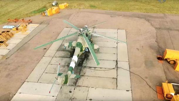 Вертольоти оснащені потужним озброєнням