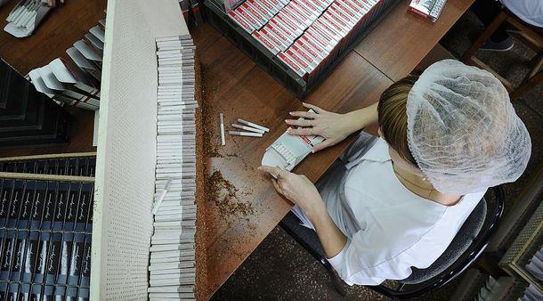Виробництво сигарет
