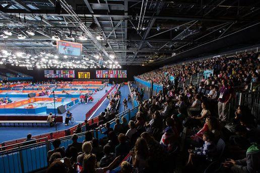 Соревнования по настольному теннису среди людей с инвалидностью