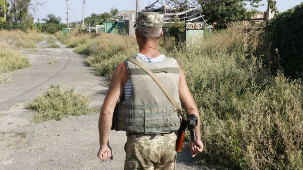 Украинские воины отбили атаку боевиков