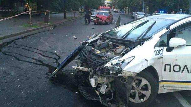 50% автомобилей столичной полиции бывали в ДТП
