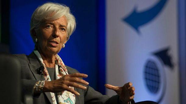 Крістін Лагард пояснила, навіщо дала Україні гроші