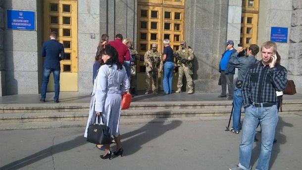 Обшуки провели й у Харківській мерії