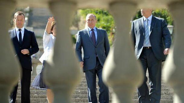 Путин снова в Крыму