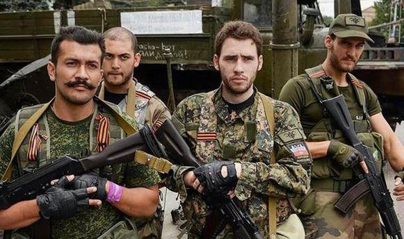 Боевики-иностранцы