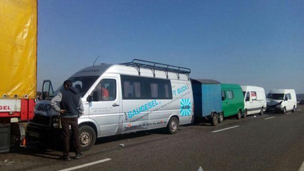 Аварія на Трасі Київ-Ковель