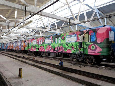 Обновленный поезд