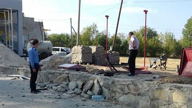 На Хмельнитчине произошел взрыв на АЗС
