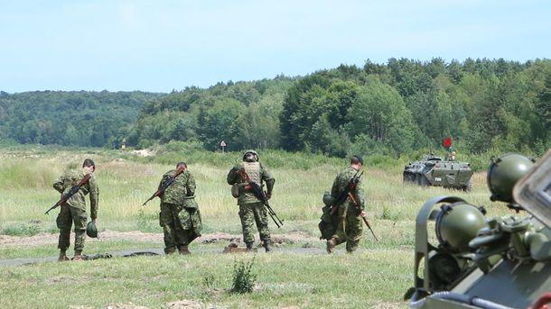 Боец погиб во время учений на Яворовском полигоне