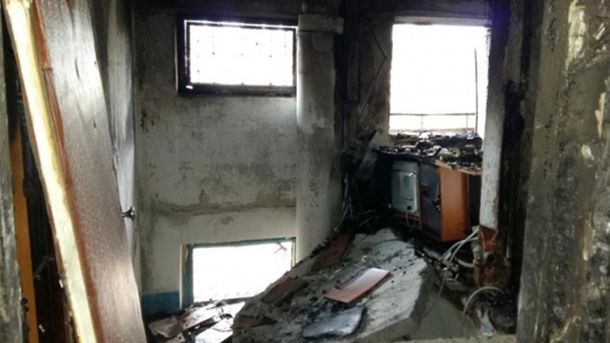 Взрыв в Павлограде