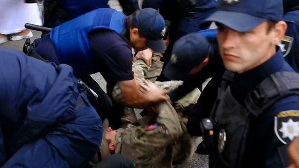 Задержание главы одесского отделения