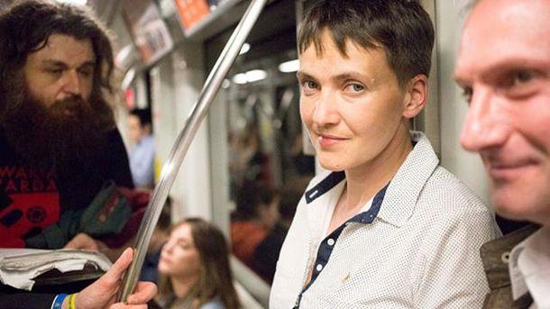 Савченко прекратила голодовку стребованием освобождения пленных