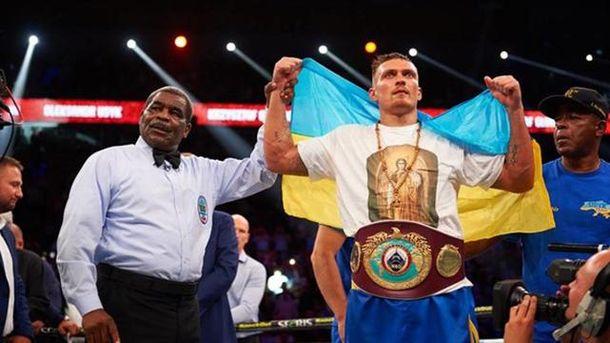 Український боксер Олександр Усик став чемпіоном світу за версією WBO
