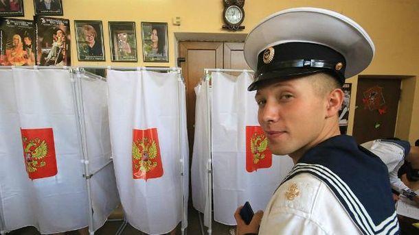 Росія провела фарс під виглядом виборів в окупованому Криму