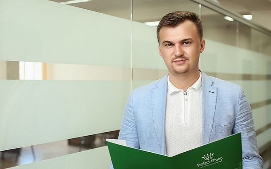 Представитель компании Perfect Group Алексей Коваль