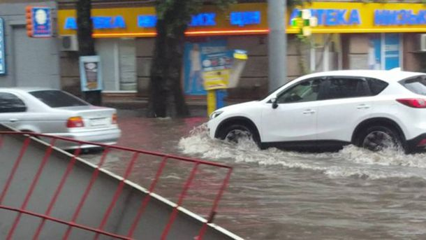 Одессу затопило