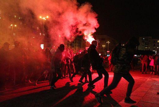 Протест против концерта Ани Лорак в Киеве