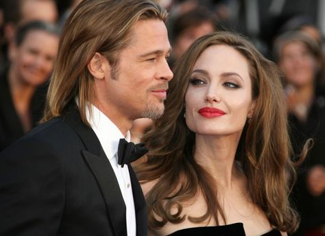 Голливудская пара Анджелина Джоли и Брэд Питт