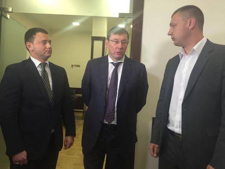 Луценко с рабочим визитом в Одессу