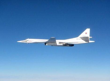 Російський бомбардувальник Ту-160